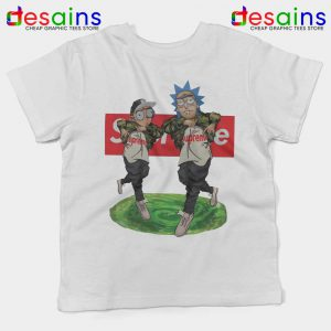Supreme Rick And Morty Hip Hop Kids Tshirt Get Schwifty Youth Tee Shirts