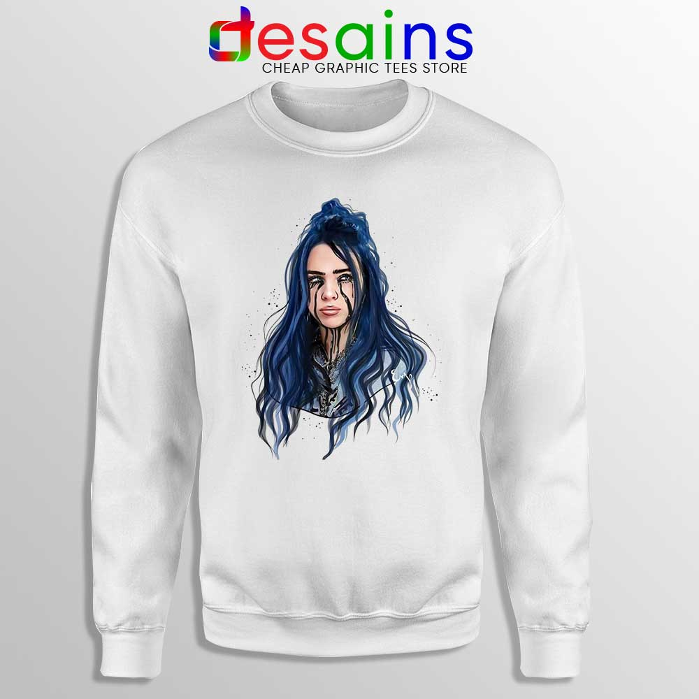 Billie Eilish When The Party S Over: When The Partys Over Sweatshirt Billie Eilish Sweater S-3XL