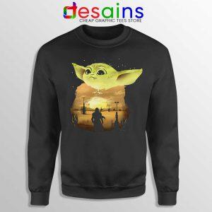 Baby Yoda The Mandalorian Sweatshirt Star Wars Sweater S-3XL