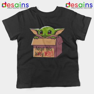 Adopt this Baby Jedi Kids Tshirt Baby Yoda Jedi Youth Tees S-XL
