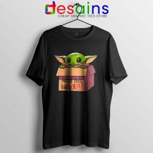 Adopt this Baby Jedi Tshirt Baby Yoda Tee Shirts S-3XL