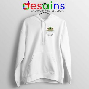 Baby Yoda in a Pocket Hoodie The Child Hoodies S-2XL