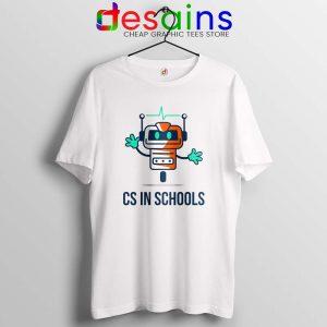 CS in Schools Robot Tshirt Computer Science Tee Shirts S-3XL