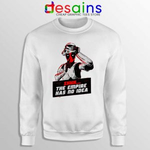 Deadpool Stormtrooper Helmet Sweatshirt Star Wars Funny Sweaters