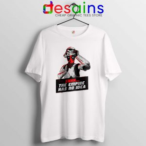 Deadpool Stormtrooper Helmet Tshirt Star Wars Funny Tee Shirts S-3XL