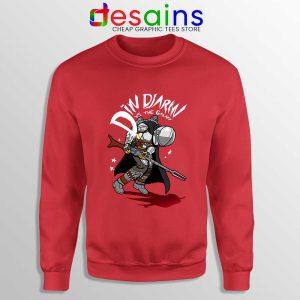 Din Djarin Vs The Galaxy Sweatshirt Disney The Mandalorian