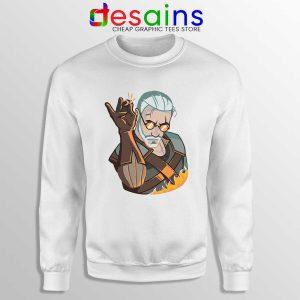 Geralt Witcher Salt Bae Sweatshirt The Witcher Netflix Sweaters S-3XL