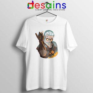 Geralt Witcher Salt Bae Tshirt The Witcher Salt Bae Tee Shirts S-3XL