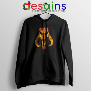 Mandalorian Hunter Logo Hoodie The Mandalorian Symbol Hoodies