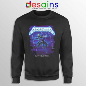 Mandalorian Ride the Lightning Sweatshirt The Mandalorian Sweaters