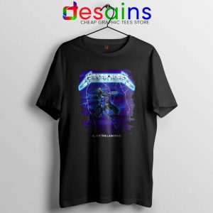 Mandalorian Ride the Lightning Tshirt The Mandalorian Tee Shirts S-3XL