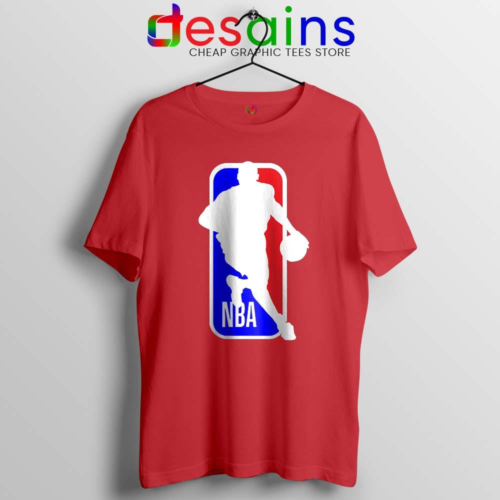 NBA Logo Kobe Bryant Tshirt NBA Merch Mamba Tee Shirts S-3XL