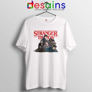 Stranger Club Tshirt Netflix Stranger Things Merch Tee Shirts S-3XL