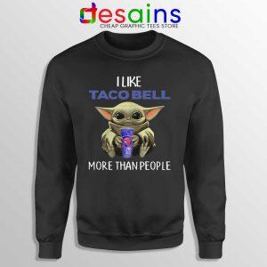 Taco Bell Baby Yoda Sweatshirt The Child Mandalorian Sweaters S-3XL