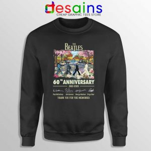 The Beatles 60th Anniversary Sweatshirt The Beatles Merch Sweaters