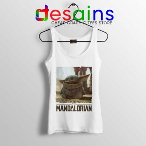 The Child Baby Yoda Star Wars Tank Top The Mandalorian Tops S-3XL