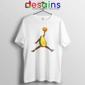 Avocado Air Jordan Tshirt Funny Avocado Fruit Tee Shirts S-3XL