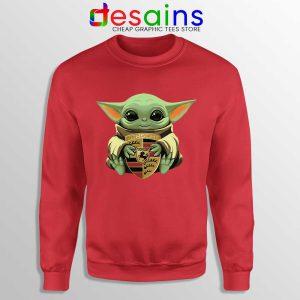 Baby Yoda Porsche Logo Sweatshirt The Child Mandalorian Sweaters