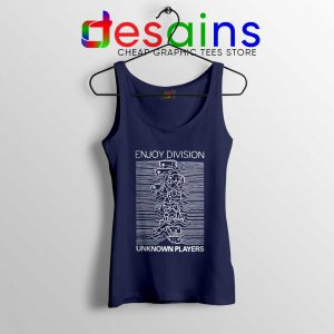 Enjoy Division Unknown Players Tank Top Gamer Joy Division Tops S-3XL