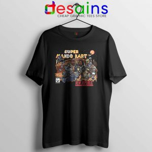 Super Mando New Republic Tshirt The Mandalorian Kart Tee Shirts S-3XL