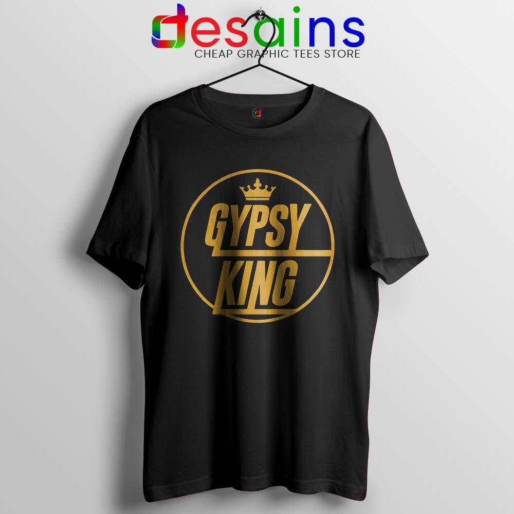 Gypsy King Tyson Fury Heavyweight champion big dosser boxer boxing t-shirt tee
