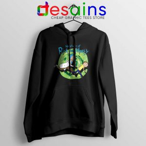 Adventures of Rick and Morty Hoodie Get Schwifty Jacket S-2XL