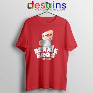Super Bernie Bros Tshirt Funny Super Mario Bros Tee Shirts S-3XL