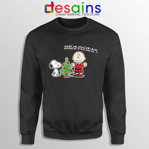 Snoopy And Charlie Brown Christmas Sweatshirt Holiday Gifts Sweaters