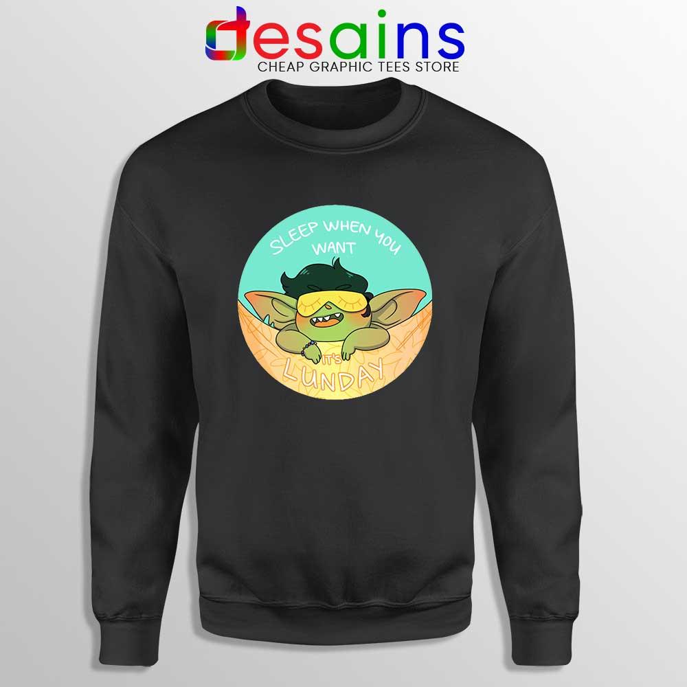 Goblin King Adult Crewneck Sweatshirt The Hobbit