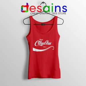 Obey Cthulhu Monster Tank Top Coca-Cola Logo Tops S-3XL