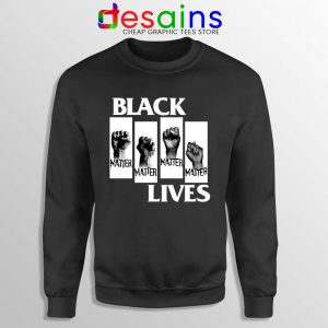 Black Lives Movement Sweatshirt BLM George Floyd Protests Sweaters S-3XL