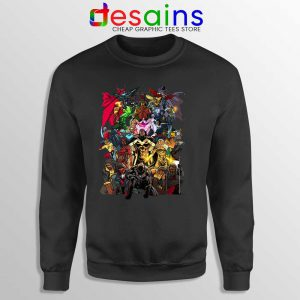 Heroes of Color Style Sweatshirt Best Superhero Movies Sweaters S-3XL