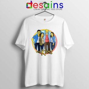 Kims Convenience Parody Simpsons Tshirt Kim Family Tee Shirts S-3XL