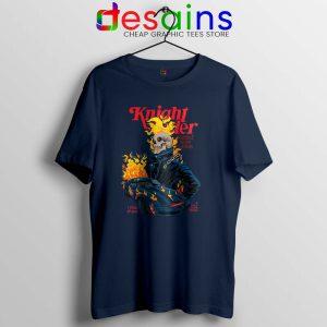 Knight Rider Ghost Tshirt Film Ghost Rider Poster Tee Shirts S-3XL