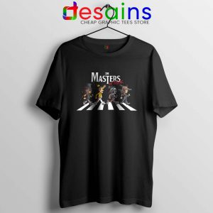 Master Of The Rock Bands Tshirt Abbey Road Tee Shirts S-3XL