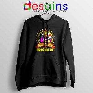 Vote Scorpio for President Hoodie Hank Scorpio Simpsons Jacket S-2XL