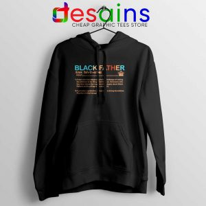 Black Father Definition Hoodie Pride Black Lives Matter Jacket S-2XL