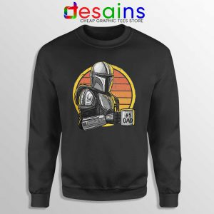 Galaxys Best Dad Sweatshirt Funny The Mandalorian Sweaters S-3XL