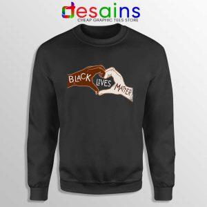Heart Hands Sweatshirt Black Lives Matters Sweaters S-3XL