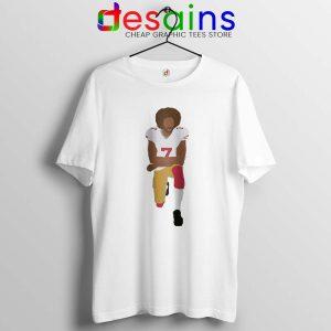 Kneeling Kaepernick BLM Tshirt Colin Kaepernick Tee Shirts S-3XL