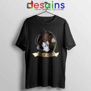 Sailor Justice BLM Tshirt Black Lives Matter Sailor Moon Tee Shirts S-3XL