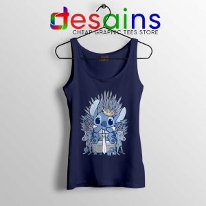 Stitch In Side Thrones Tank Top Game of Thrones Funny Tops S-3XL