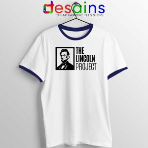 The Lincoln Project Ringer Tee American Political Unisex Ringer Tshirts