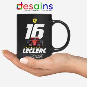 Charles Leclerc Race Car Mug F1 Driver Coffee Mugs