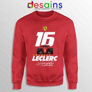 Charles Leclerc Race Car Sweatshirt F1 Driver Sweaters S-3XL