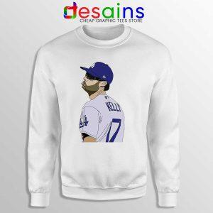 Dodgers Joe Kelly Pout Sweatshirt Los Angeles Dodgers MLB