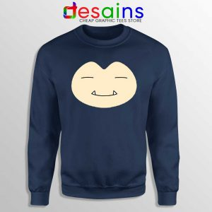 Face Snorlax Pokemon Go Sweatshirt Cute Snorlax Sweaters Cheap