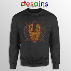 Iron Man Tech Sweatshirt Marvel Iron Man Mask Art Sweaters