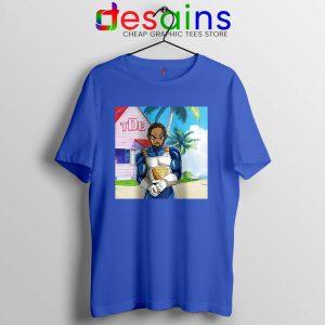 Kendrick Lamar Zenkai Tshirt Hip Hop's Dragon Ball Tee Shirts