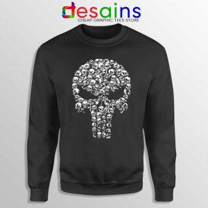 Punisher Skull Symbol Sweatshirt Marvel Comics Sweaters S-3XL